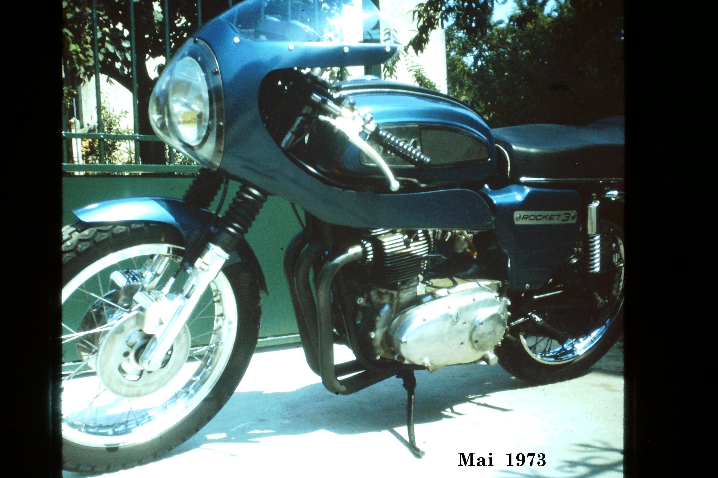 BSA Rocket 3 Mai 1973